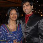 Akshay Dogra with his wife