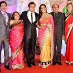 Abhinav Kohli with his wife Shweta Tiwari, parents, brother Anirudh Kohli, and sister-in-law