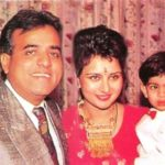 Poonam Dhillon With Her Ex-husband Ashok Thakeria