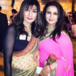 Poonam Dhillon With Her Sister