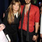 Gemima Goldsmith with her ex-boyfriend Russell Brande