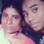 Hima Das with her mother