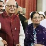 Kamla Advani With Her Husband, L.K. Advani