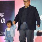 Satish Kaushik With His Daughter