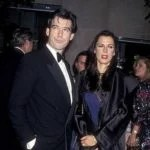 Pierce Brosnan and Barbara Orbison