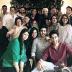 Krishna Kapoor with her family
