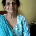 Nitin Bali's mother Uma Bali