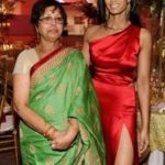 Padma Lakshmi with her Mother