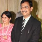 Ujjwal Nikam with his Wife