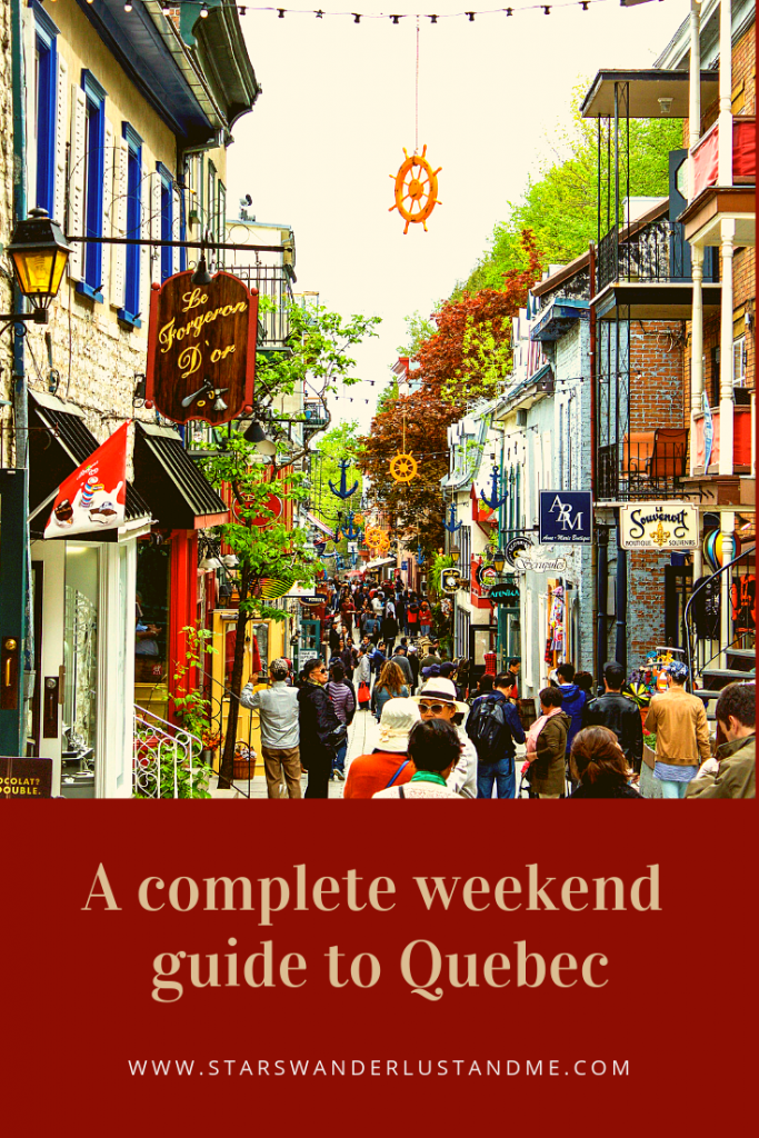 Complete weekend guide to Quebec