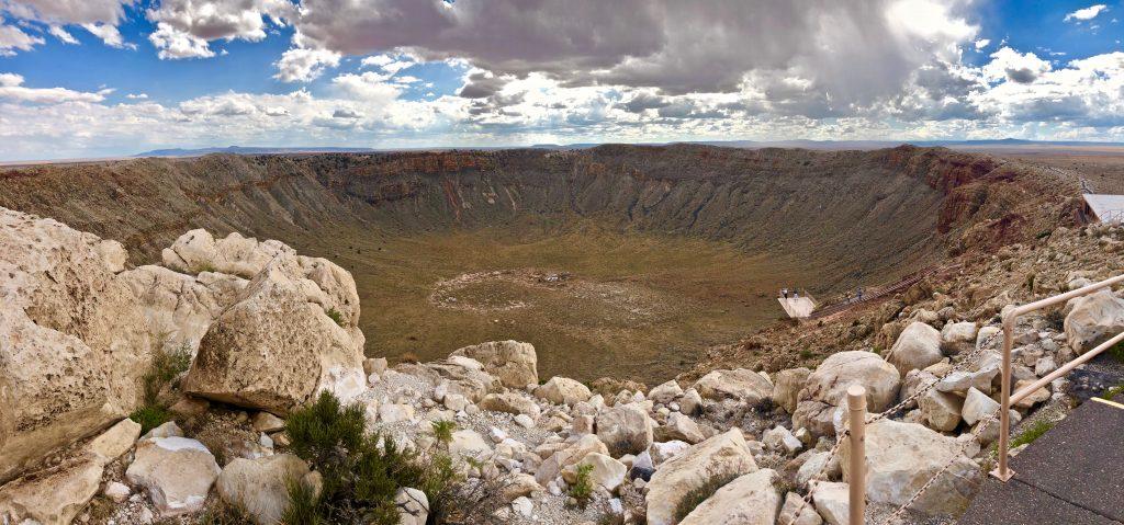 Meteor crater landmark day 4 arizona