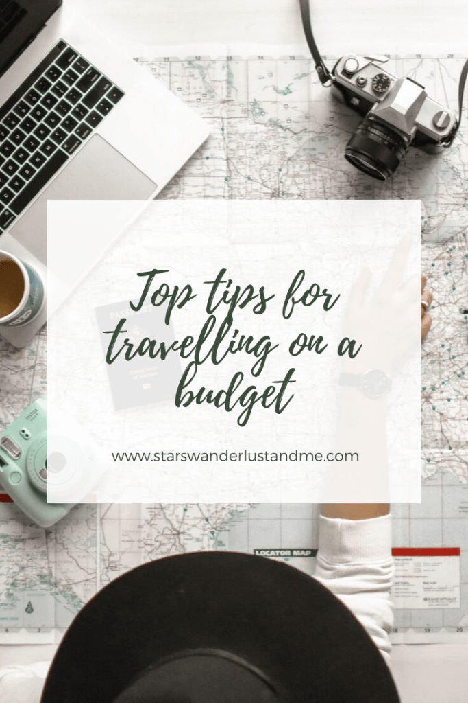 Top tips for travelling on a budget pinterest