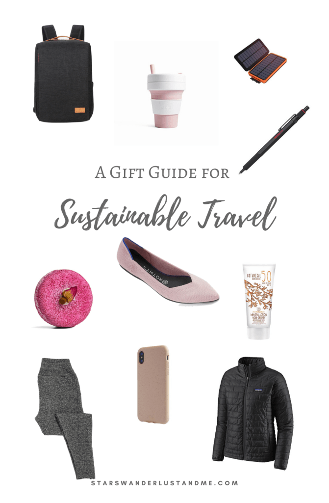 Sustainable Travel Gift Guide pinterest