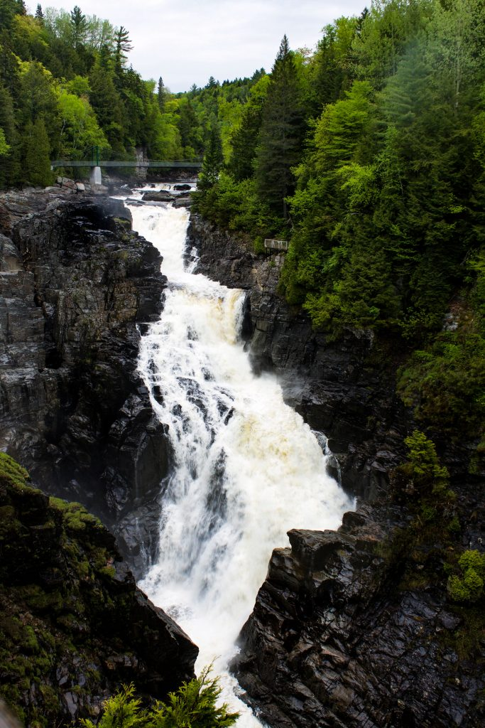 Canyon Sainte-Anne Quebec