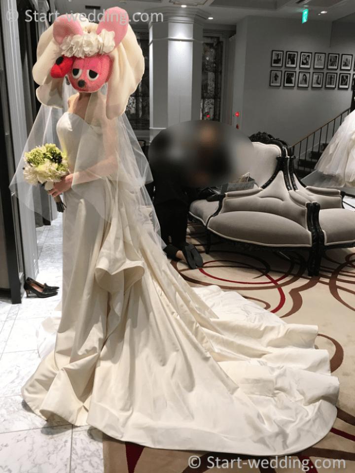オスカーデラレンタのドレス
