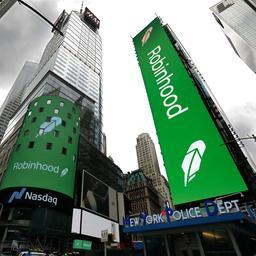 Beleggingsapp Robinhood onderuit op eerste dag van langverwachte beursgang