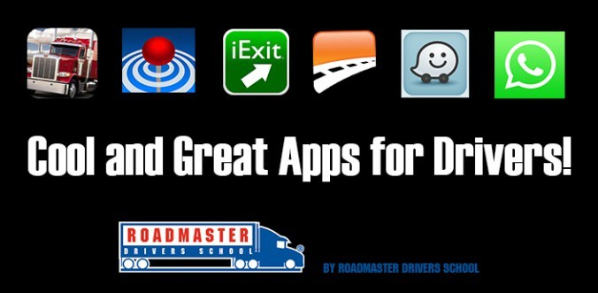 Top 6 smartphone apps for new Truck Drivers - Roadmaster ...