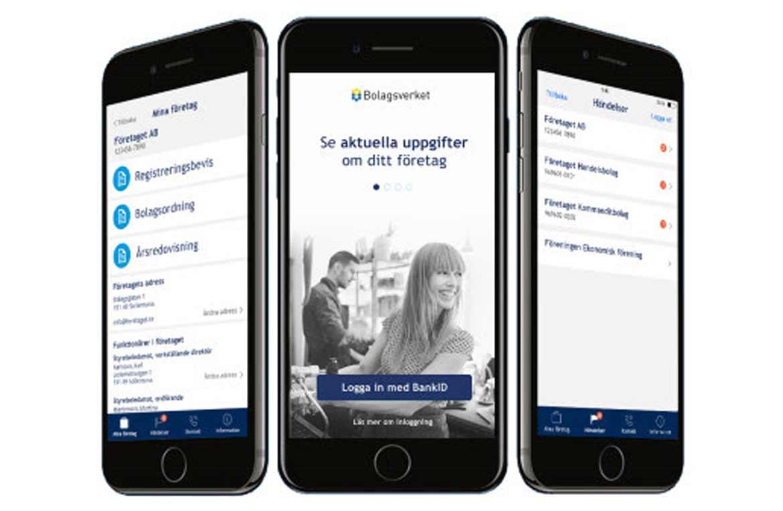 gratis registreringsbevis i bolagsverkets nya app
