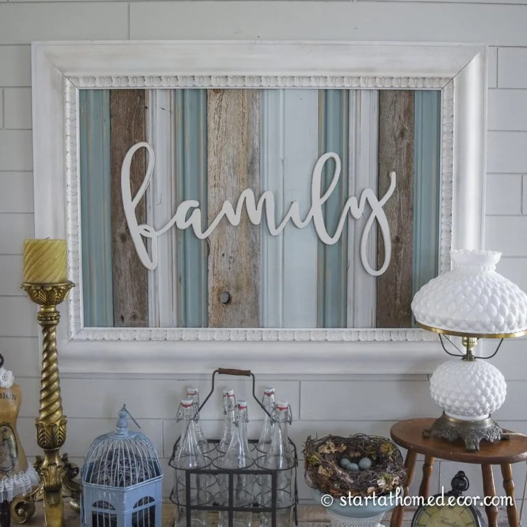 Reclaimed Wood Signs | Start at Home Decor on Home Wall Decor Signs id=57459