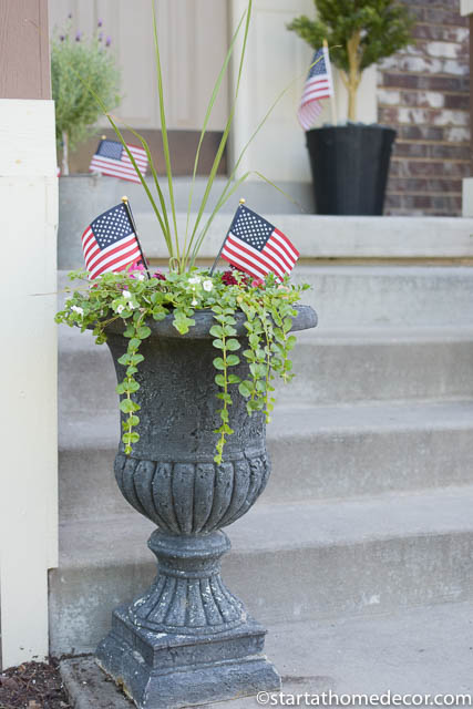 Create A 4th Of July Front Porch On A Budget Start At