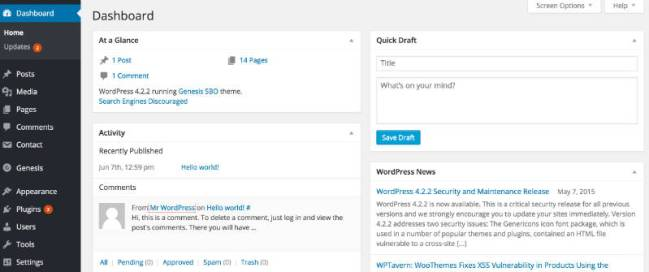 Your_WordPress_dashboard