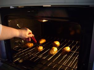 Oven-Baked Potatoes > Start Cooking