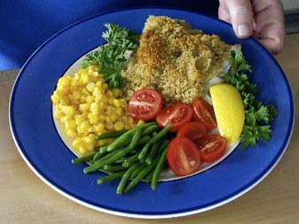 Baked Cod and Microwave Salmon > Start Cooking