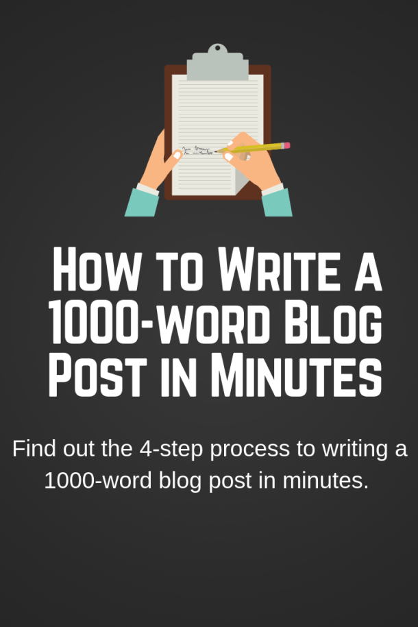 write 1000-word article quickly