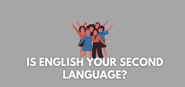can you write a blog if english is your second language