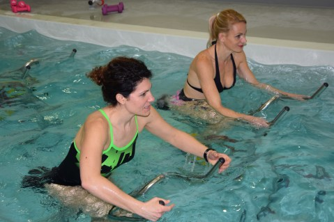 Centre O35 aquabiking nantes Starting Girl