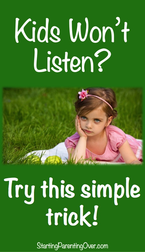 Want to learn the two words that help children listen naturally and quickly? This simple parenting strategy works most of the time.