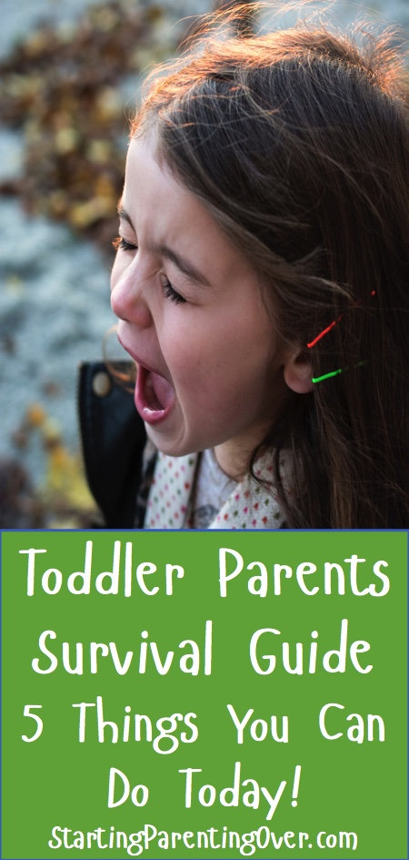 Check out five things you can start today to help lighten the load of parenting toddlers.