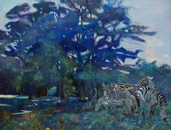 Botanical Zebras Ntensibe