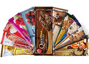 Low Carb Snack Ideas - Quest bars