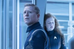 """An Obol For Charon"" -- Ep #204 - Pictured: Anthony Rapp as Stamets of the CBS All Access series STAR TREK: DISCOVERY. Photo Cr: Michael Gibson/CBS © 2018 CBS Interactive. All Rights Reserved."