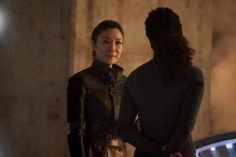 """Perpetual Infinity"" -- Ep#211 -- Pictured: Michelle Yeoh as Georgiou of the CBS All Access series STAR TREK: DISCOVERY. Photo Cr: Steve Wilkie/CBS ©2018 CBS Interactive, Inc. All Rights Reserved."