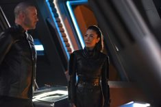 """Perpetual Infinity"" -- Ep#211 -- Pictured: Michelle Yeoh as Georgiou of the CBS All Access series STAR TREK: DISCOVERY. Photo Cr: John Medland/CBS ©2018 CBS Interactive, Inc. All Rights Reserved."