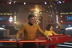 ÒSuch Sweet Sorrow, Part 2Ó -- Ep#214 -- Pictured: Anson Mount as Captain Pike of the CBS All Access series STAR TREK: DISCOVERY. Photo Cr: Russ Martin/CBS ©2018 CBS Interactive, Inc. All Rights Reserved.
