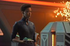 ÒSuch Sweet Sorrow, Part 2Ó -- Ep#214 -- Pictured: Sonequa Martin-Green as Burnham of the CBS All Access series STAR TREK: DISCOVERY. Photo Cr: John Medland/CBS ©2018 CBS Interactive, Inc. All Rights Reserved.