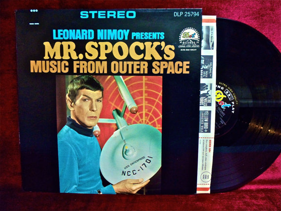 spocks music from outer space