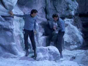 Spock, Bones ice cubes in past
