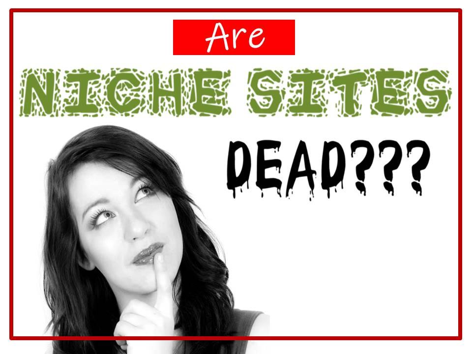 are niche sites dead