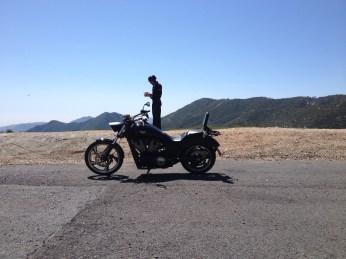 At the top of Azusa Canyon