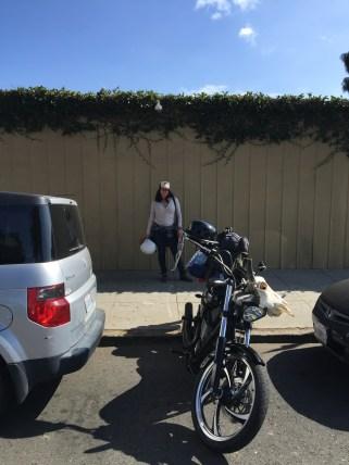 Parking spot in Santa Barbara