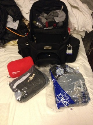 Ziploc Space Bag-How to Pack For a Motorcycle Trip