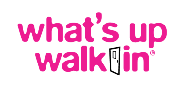 what's up Walk-In logo