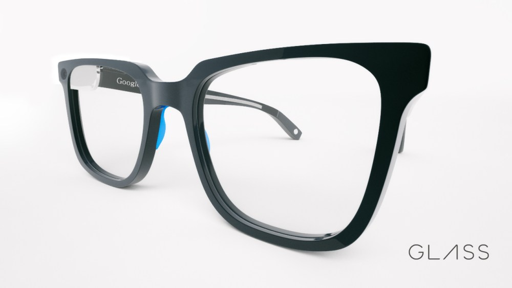 Sourcebits Hipster Google Glass Side