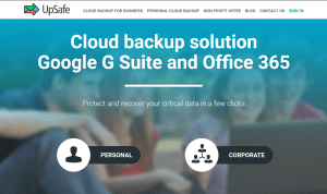 Upsafe free Office365 backup