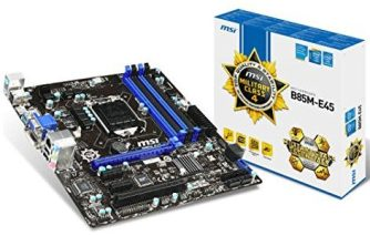 Resources Used at Startup Archive - MSI B85M E45 Desktop Motherboard