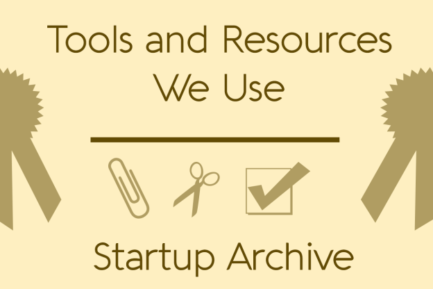 Recommended Tools and Resources at Startup Archive
